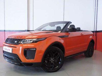 usado Land Rover Range Rover evoque Convertible 2.0TD4 HSE Dynamic 4WD 150 Aut.