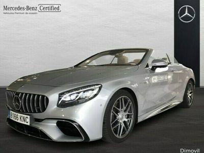 usado Mercedes S63 AMG AMG 4Matic+ Cabrio
