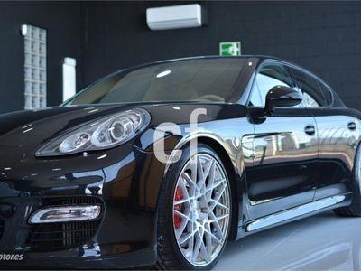 brugt Porsche Panamera Turbo 4.8