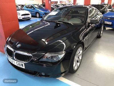 usado BMW 630 Serie 6 i Coupe 190kW (258CV)