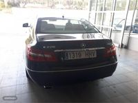 used Mercedes E220 Clase E CoupeCDI Blue Efficiency Elegance