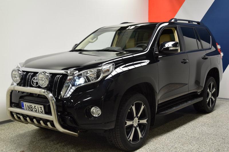 Myyty Toyota Land Cruiser 3,0 D-4D . - Myytävänä olevat käytetyt autot