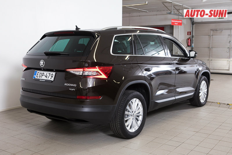 myyty skoda kodiaq 2 0 tdi 190 4x4 myyt v n olevat k ytetyt autot. Black Bedroom Furniture Sets. Home Design Ideas