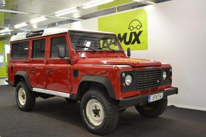 Land Rover Defender 110 >> Myyty Land Rover Defender 110 2 5 T Myytavana Olevat