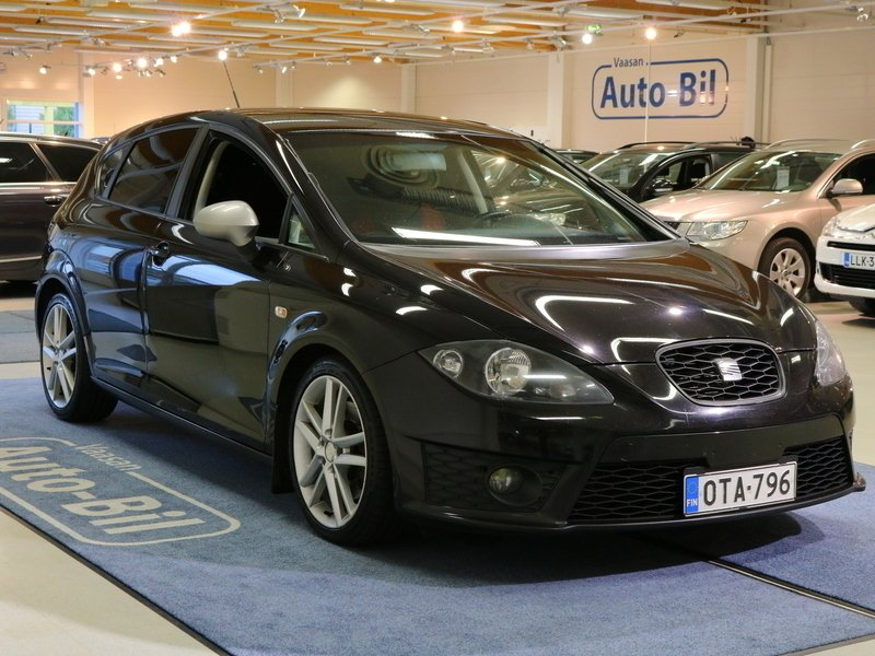 myyty seat leon fr 170 tdi cr dpf d myyt v n olevat k ytetyt ajoneuvot. Black Bedroom Furniture Sets. Home Design Ideas