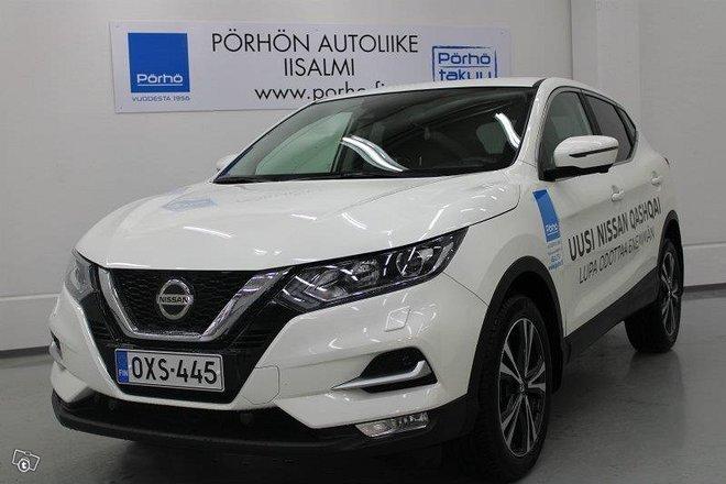 Nissan Qashqai 2018 >> Kaytetty 2018 Nissan Qashqai 1 3 Benzin 2018 Iisalmi