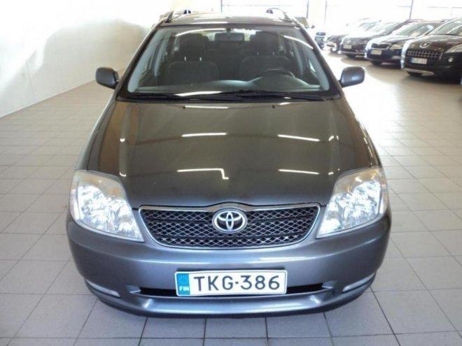 Myyty Toyota Corolla 1,6 VVT-I LINE. - Myytävänä olevat käytetyt autot