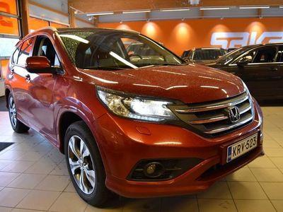 käytetty Honda CR-V Diesel Executive Navi AT ** Suomi-auto / Navi / KeyLessGo / Muistipenkki / Peruutuskamera / Panorama