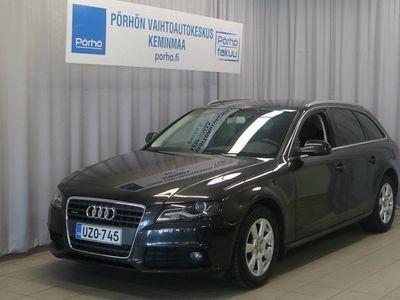 käytetty Audi A4 Avant 2,0 TFSI 155 quattro 30v S tronic 1. Erä jopa 3kk päähän TOIMITUS KOTIIN VELOITUKSETTA