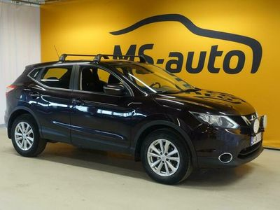 käytetty Nissan Qashqai 1,6dCi Acenta 4WD 6M/T Safety Pack Connect