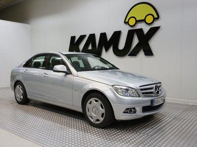 käytetty Mercedes C200 Kompressor 135kw Automaatti Avantgarde /Huoltokirja / Automaatti-ilmastointi /Navi / Vetokoukku