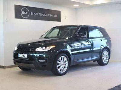 käytetty Land Rover Range Rover Sport 3,0 SDV6 HSE Dynamic, Kaunis vihreä. Erittäin siisti, Hyvät varusteet, Lisää kuvia tulossa