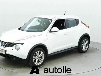 käytetty Nissan Juke KUNTOTARKASTETTU1,6L Pure Drive Acenta 2WD Elegance Alloy Connect