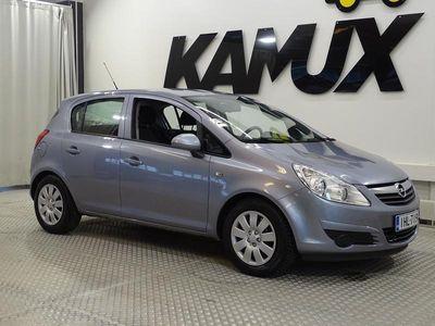 käytetty Opel Corsa 5-ov Enjoy 1,2 Twinport 80hv / Suomi-auto / Lohkolämmitin / Lämmitettävä-ohjauspyörä / 2-renkaat /