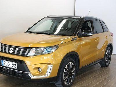 """käytetty Suzuki Vitara 140 BOOSTERJET 4WD GLX+SR 6MT """"Lasikatto, Navi, Koukku"""" **** Tähän autoon on saatavilla LänsiAuto Sa"""