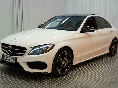 käytetty Mercedes C300 BlueTec Hybrid A Premium Business AMG ** Tulossa Espooseen / Huippuvarusteet / Webasto / Burmester / 360° / Panorama / Muistipenkit / ILS **