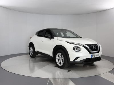 käytetty Nissan Juke DIG-T 117HP 7DCT N-Connecta + two-tone