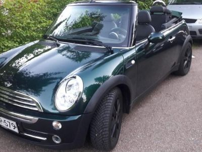 käytetty Mini Cooper Cabriolet 1,6 British Racing Green