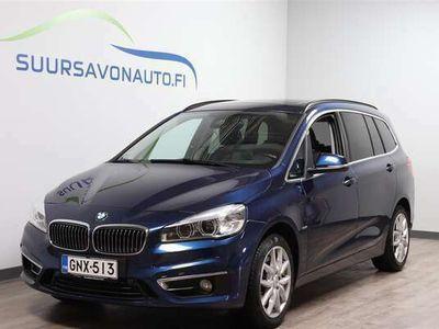 käytetty BMW 220 Gran Tourer F46 220d A xDrive Luxury Line **7-PAIKKAINEN / VETOKOUKKU / PANORAMA / ADAPT. VAKKARI**