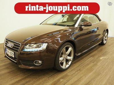 käytetty Audi A5 Cabriolet 2,0 TFSI 132 kW multitronic-autom. - Suomiauto, Bi Xenon, Vakionopeudensäädin, Nahkaverhoi