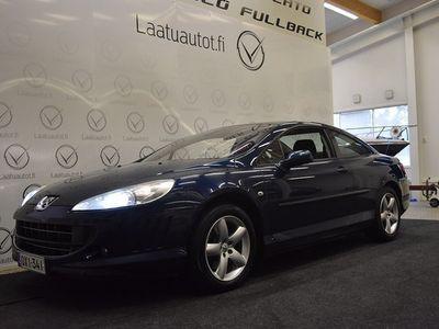 käytetty Peugeot 407 Coupe 2,2 ,Xenon-valot,Cruise,Auto-ac,P-tutka,Korkotarjous 1,99%+kulut