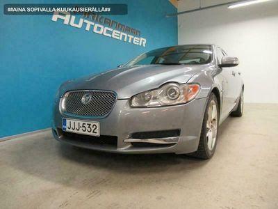 käytetty Jaguar XF 2.7D V6 207hv Aut. Premium Luxury Sedan KORKO alk. 0% +KULUT, VOIMASSA 23-30.11.2020 BLACK FRIDAY KOKO VIIKON