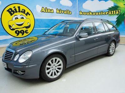 käytetty Mercedes E220 CDI T A Business Avantgarde - *SUOMIAUTO, SÄRMÄSTI HUOLLETTU, KATSASTUS 08/2020!* - *0 KORKO 0,
