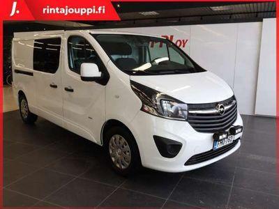 käytetty Opel Vivaro Van Edition L2H1 1,6 CDTI Bi Turbo ecoFLEX 92kW MT6 J. kotiintoimitus