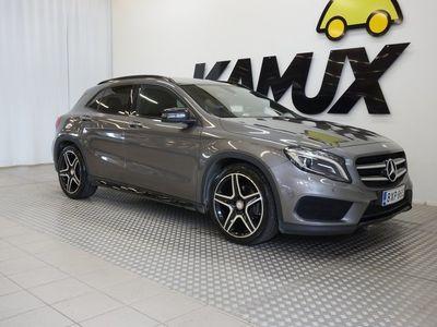 käytetty Mercedes GLA200 d 4Matic AMG-Styling / Webasto! / Navi / Night paketti / Bi-Xenon ajovalot / Neliveto / Näyttävä