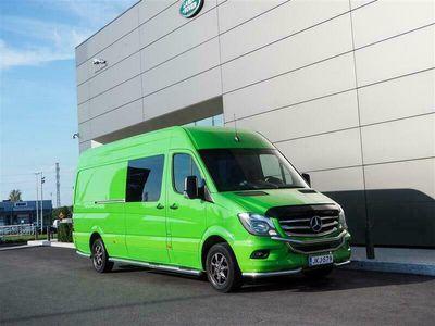 käytetty Mercedes Sprinter 319 CDI Pitkä Kuorma-auto + 6-Hlö + Webasto + Vetokoukku + Sis. ALV 24% / Tulossa myyntiin!