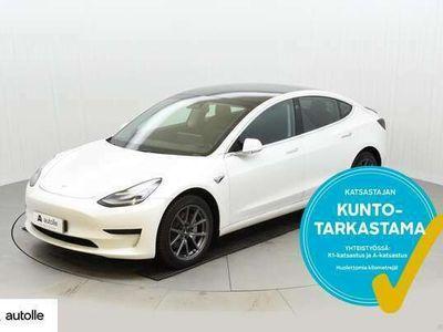 käytetty Tesla Model 3 KOTIINTOIMITUS Standard RWD Plus. Tarkastettuna, Rahoituksella, Kotiin toimitettuna