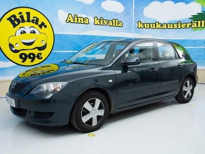 käytetty Mazda 3 1,6 Classic 5d AT - *ILMASTOITU AUTOMAATTI* - *NYT ON OSTAJAN MARKKINAT!*