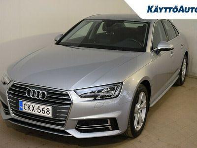 käytetty Audi A4 Business Sport Comfort Edition S line 2,0 TFSI / Kauk. webasto, Vetokoukku, 1 omistaja /
