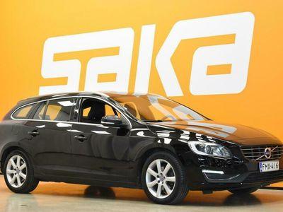 käytetty Volvo V60 D3 Business Classic Summum aut ** Suomiauto / Webasto / KeyLessGo / VOC / Muistipenkki / Nahat / Navi / Digimittaristo **