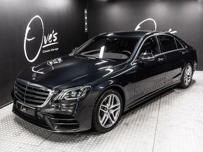käytetty Mercedes S560 Lang AMG Plug-in hybrid, Burmester HiFi, adaptiivinen vakionopeudensäädin, imuovet, kaistavahti, tehdastakuu
