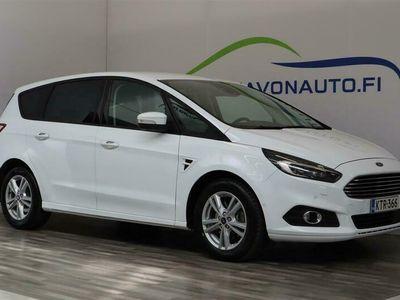 käytetty Ford S-MAX 2,0 TDCi EcoBlue 150hv A8 Trend 5-ovinen 7-Paikkainen / Webasto / Navi / Facelift / Xenon / Suomi