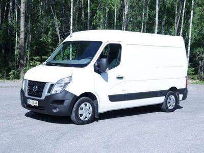 käytetty Nissan NV400 Van 2,3dCi 135 6M/T E5 L2H2 Glazed FD Blind SSD 3.5 FWD Start Stop Working Star - ALV-Vähennyskelpoi