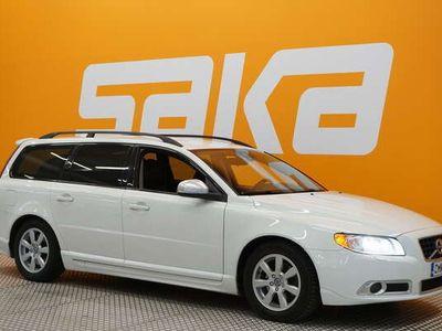 käytetty Volvo V70 T4F R-Design aut ** Nahkasisusta / Peruutustutka / Xenon-valot / Sähkötoim. takaluukku **
