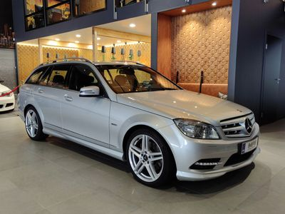 käytetty Mercedes C350 CDI BE T A AMG ILS,Comand,Koukku,yms. *vaihto/rahoitus*