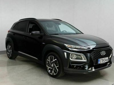 käytetty Hyundai Kona 1,6 hybrid 141 hv 6-DCT Style Automaatti / Navigointi / Krell-Audio / Led-Ajovalot