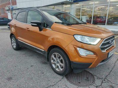 käytetty Ford Ecosport 1,0 EcoBoost 125hv A6 Titanium 5-ovinen *** Tehdastakuu, J. kotiintoimitus