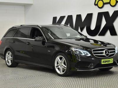 käytetty Mercedes E220 BlueTec T 4Matic A Premium Business AMG ** KOUKKU*LEDIT*NAHKA-ALCANTARA**