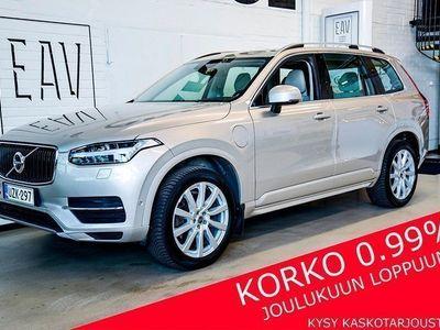 käytetty Volvo XC90 T8 HYBRID AWD Aut 7H ON CALL, 360-KAMERA, ADAPT. VAK., VETOK., PANORAMA, TÄYSNAHAT, NAVI, HIFI