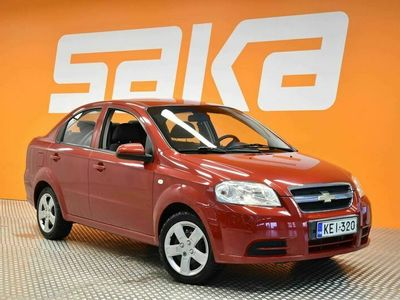käytetty Chevrolet Aveo 4-ov LS 1,4 M/T AC Star ** Suomi-auto / Lohkolämmitin **