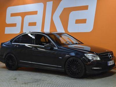 käytetty Mercedes C350 CDI BE 4Matic AMG-Styling ** Webasto / Comand navi / ILS-Xenon / Sporttipenkit / Näyttävä! **