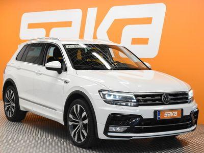 käytetty VW Tiguan Highline 2,0 TDI 4MOTION DSG R-LINE ** HUIPPUVARUSTEET! / Digimittaristo / Merkkihuollettu / Webasto