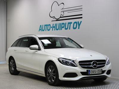 käytetty Mercedes C200 d T A Premium Business *** Juuri tullut / Suomi-auto / ILS / Sporttipenkit ***