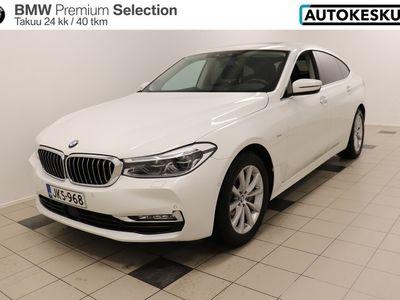 käytetty BMW 630 6-sarja G32 Gran Turismo d A xDrive *huimat varusteet, suomi-auto* - Huikeilla varusteilla ladattu näyttävä 630GT! 2 vuoden / 40tkm takuu! - BPS takuu 24 kuukautta/40 000 km