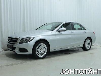 käytetty Mercedes C220 BlueTec A Exclusive *LED-VALOT, NAVI, EXCLUSIVE-PAKETIT YMS.*