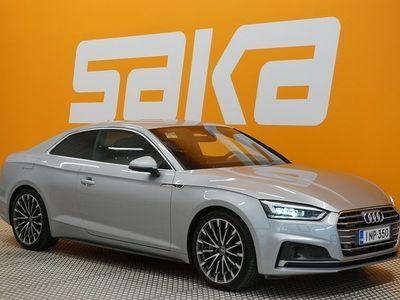 käytetty Audi A5 Coupé Business Sport 2,0 TFSI 185 kW quattro S tronic S-LINE ** Suomi-auto / Digimittaristo / ACC /